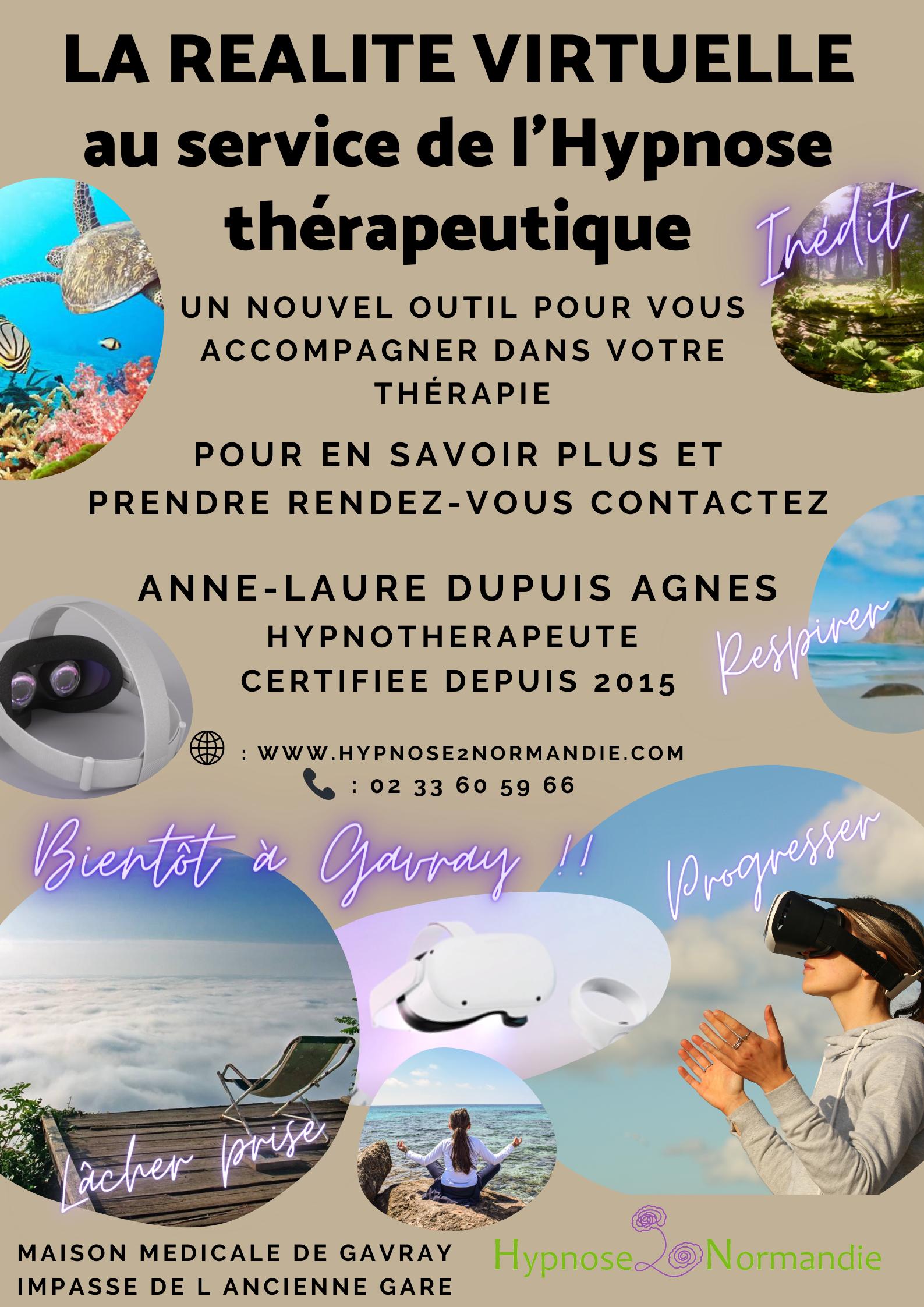 Inedit La Réalité Virtuelle au service de l'hypnose thérapeutique dans votre cabinet